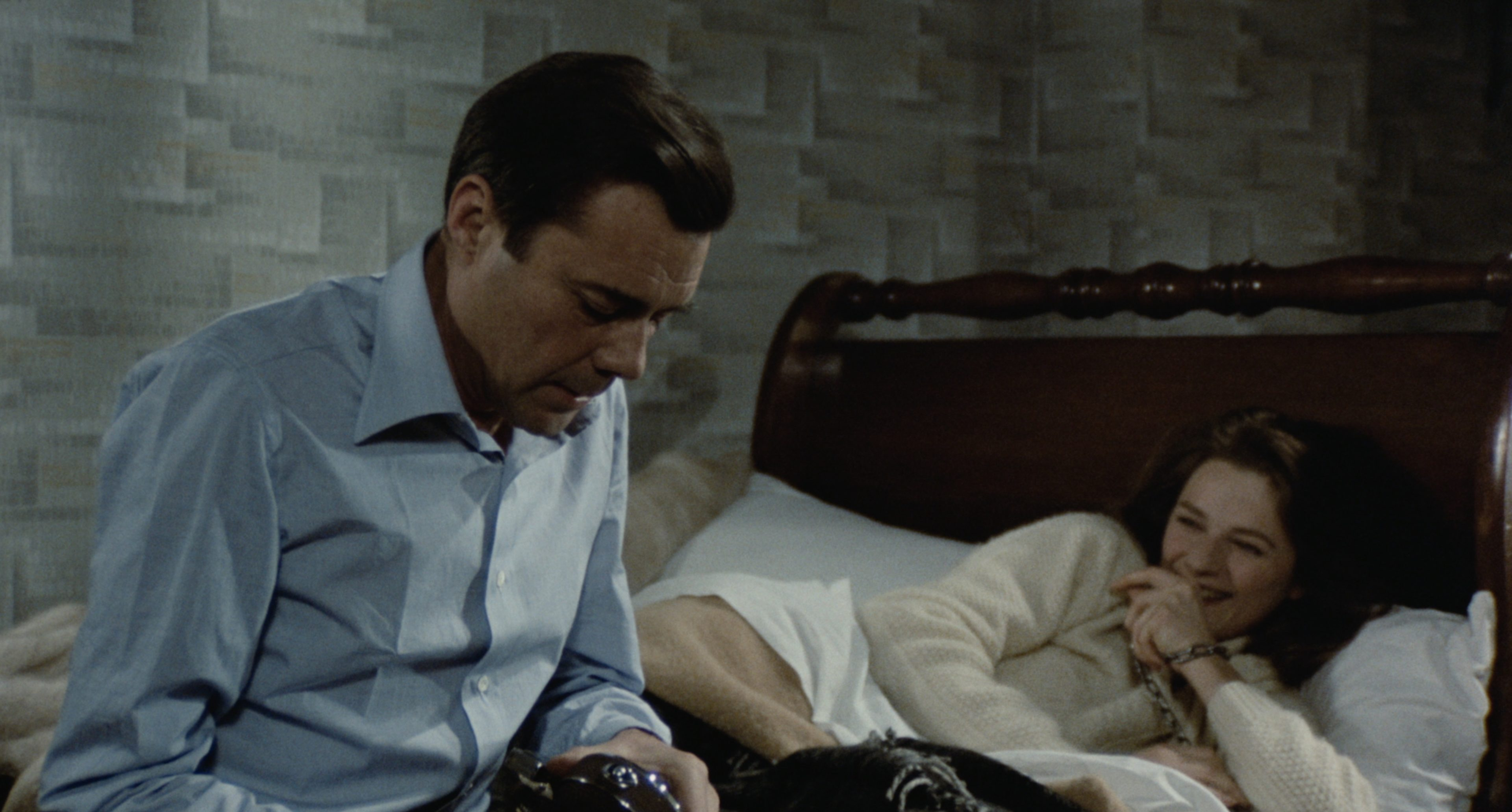 The Night Porter' with Dirk Bogarde and Charlotte Rampling heading to Blu-ray later this month