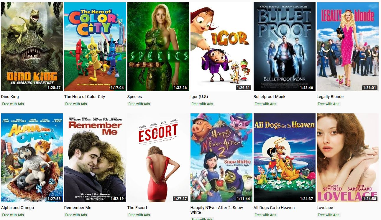 Free Full Cartoon Movies 5 of the best free movies to watch right now on youtube